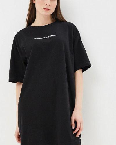 Черное платье Vans