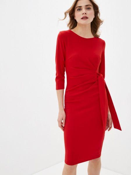 Платье футляр красный City Goddess