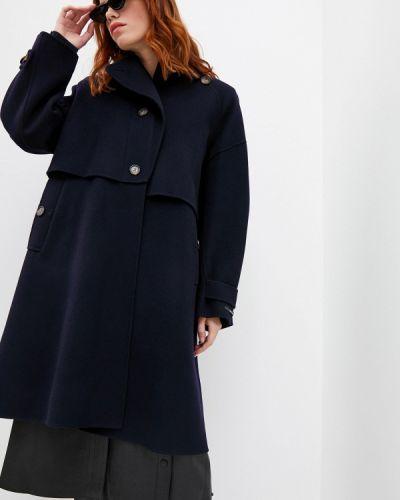 Синее пальто Sportmax Code