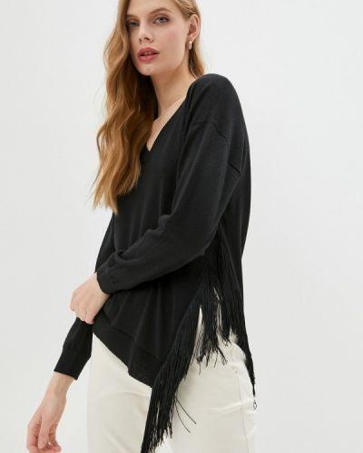 Черный пуловер Falconeri
