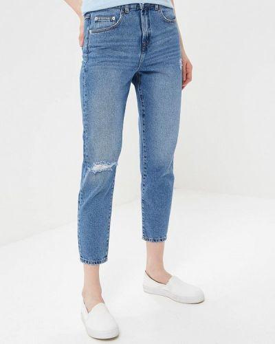 Синие джинсы рваные Ichi