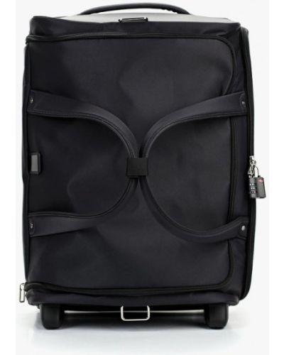 Дорожная сумка нейлоновая черная Samsonite