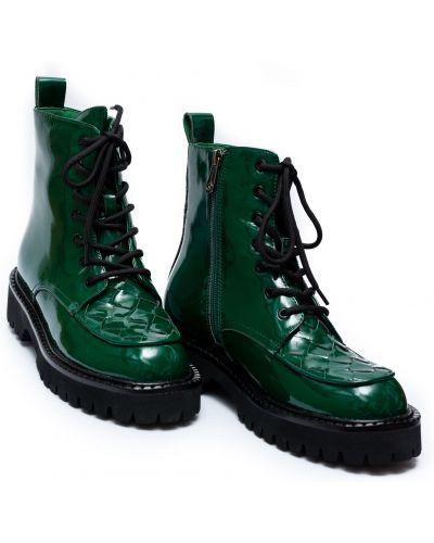 Текстильные ботинки - зеленые Brocoly
