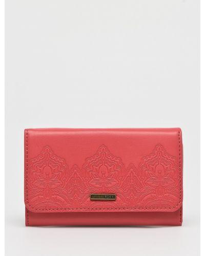 Розовый кошелек Roxy