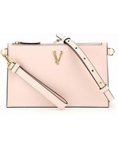 Różowa kopertówka Versace