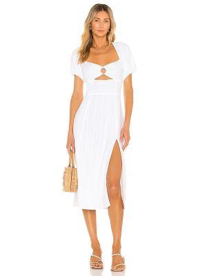 Белое платье на молнии L*space