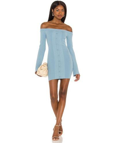 Sukienka prążkowana - niebieska Lovers + Friends