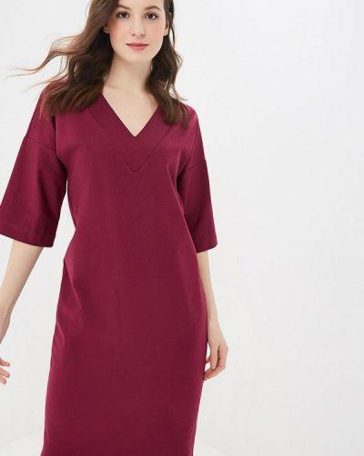 Платье бордовый красный Elena Kulikova
