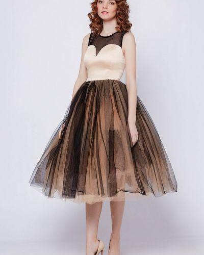 Коктейльное платье на тонких бретелях осеннее Nothing But Love
