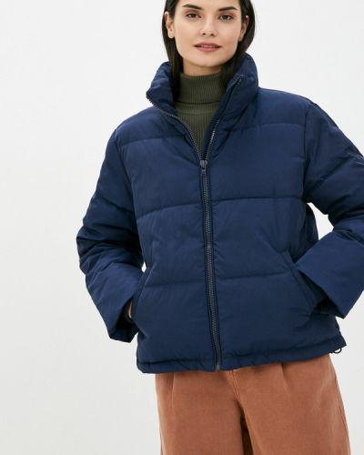 Утепленная синяя куртка Wrangler