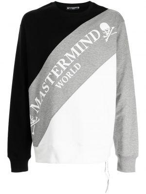 Czarna bluza bawełniana Mastermind World