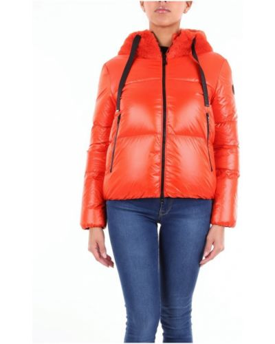 Pomarańczowa krótka kurtka Bosideng