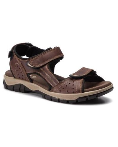 Sandały sportowe - brązowe Go Soft