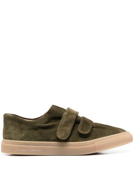 Кожаные кроссовки - зеленые Mackintosh