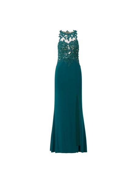 Zielona sukienka wieczorowa Mascara
