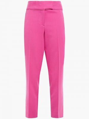 Różowe spodnie Rachel Zoe