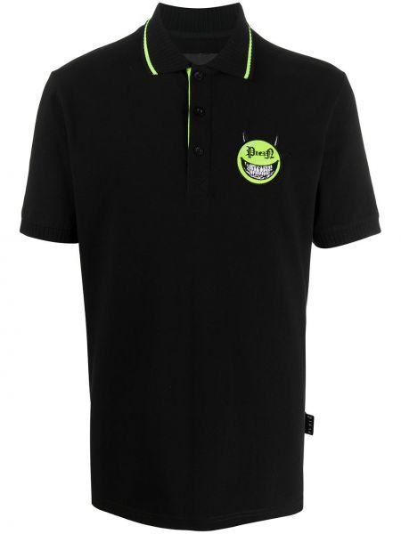 Koszula krótkie z krótkim rękawem klasyczna z logo Philipp Plein