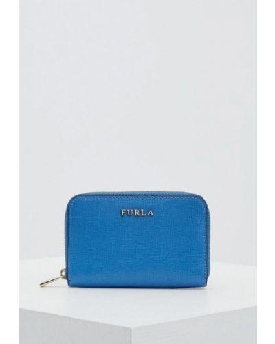 Голубая ключница Furla