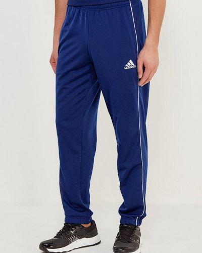 Синие спортивные брюки Adidas
