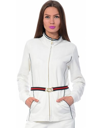 Костюмный белый спортивный костюм Marina Yachting