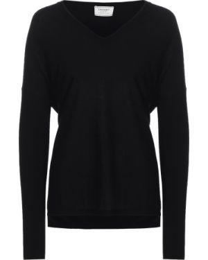 Пуловер с V-образным вырезом кашемировый Snobby Sheep
