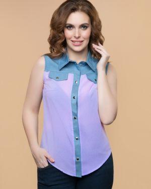 Блузка без рукавов красная Belluche
