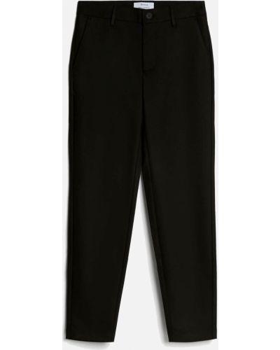 Черные яркие брюки Bershka