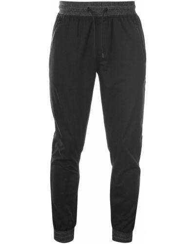 Czarne spodnie bawełniane No Fear