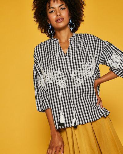 Блузка с вышивкой оверсайз Medicine