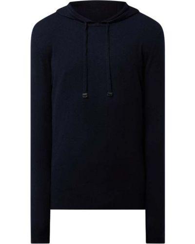 Sweter wełniany - niebieski Strellson