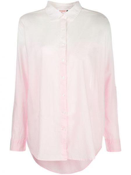 Рубашка с длинным рукавом - белая Sundry