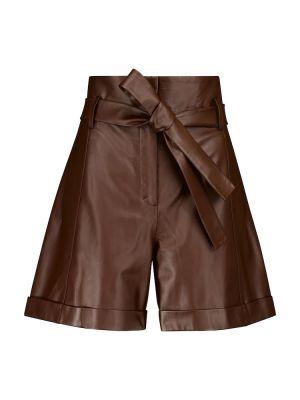 Коричневые кожаные шорты Dorothee Schumacher
