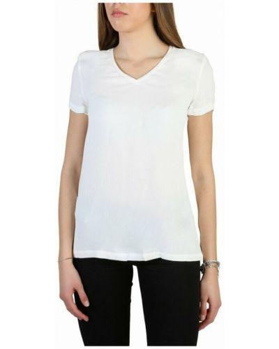 T-shirt - biała Armani Jeans