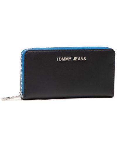 Czarny portfel Tommy Jeans