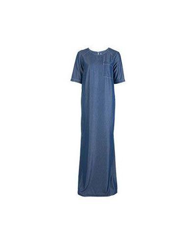 Повседневное синее платье из вискозы Vuall