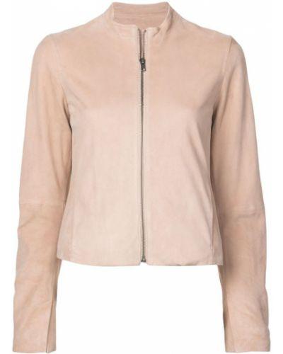 Розовая куртка Vince
