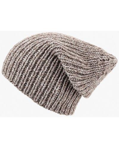 Бежевая шапка осенняя Check Ya Head