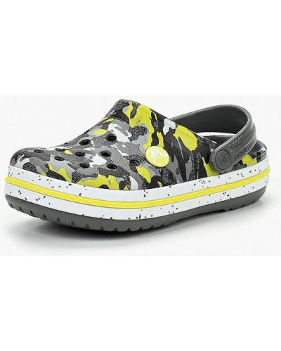 Серое сабо Crocs