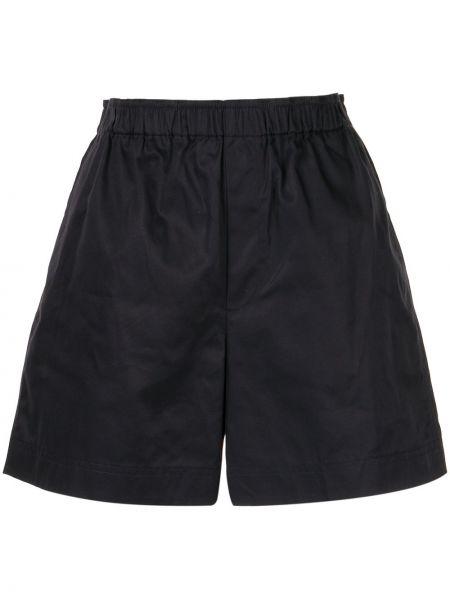 Короткие шорты домашние с оборками Helmut Lang