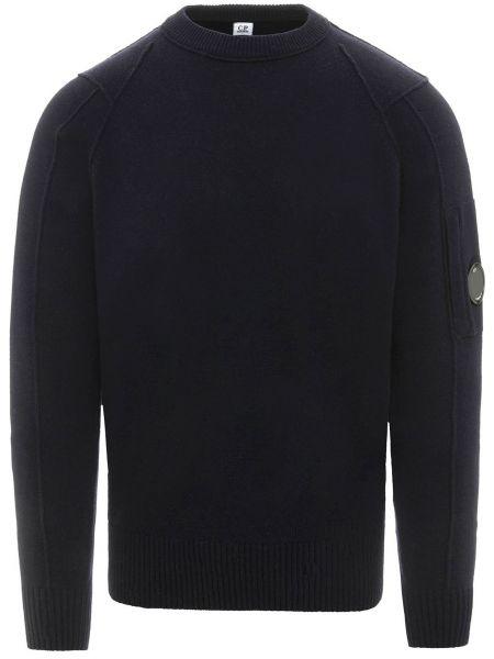 Шерстяной свитер - синий C.p. Company
