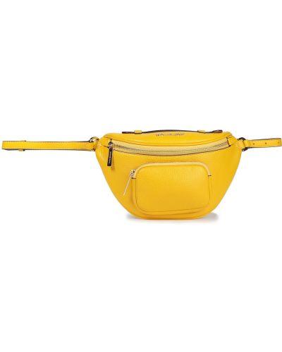 Złoty pasek - żółty Michael Michael Kors