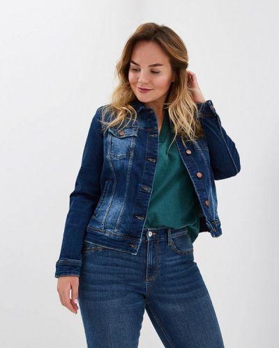 Синяя джинсовая куртка Violeta By Mango