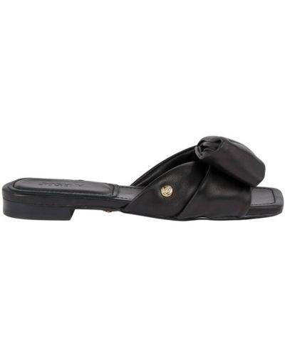 Czarne sandały Josh V