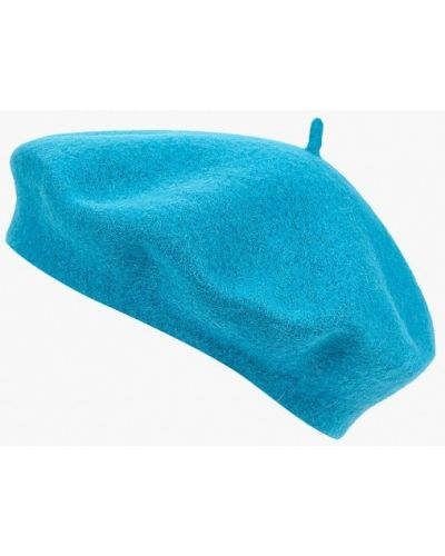Голубой берет осенний United Colors Of Benetton