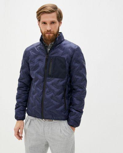 Утепленная синяя куртка Daniel Hechter