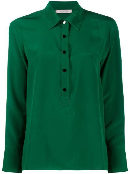 Шелковая классическая рубашка с воротником с манжетами на пуговицах Dorothee Schumacher