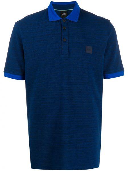 Koszula krótkie z krótkim rękawem klasyczna z logo Boss Hugo Boss