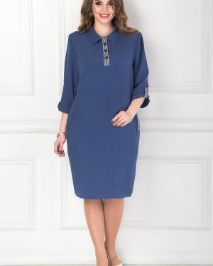 Деловое платье на пуговицах платье-сарафан Bellovera