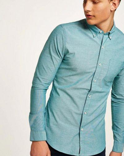 Бирюзовая рубашка Topman