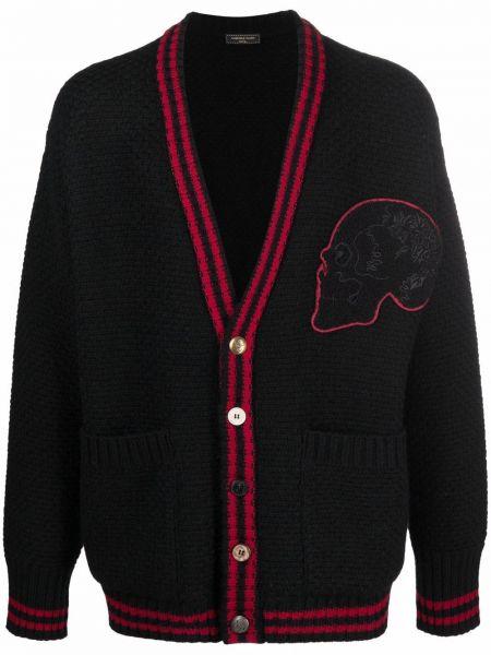 Czarny sweter z akrylu Gabriele Pasini